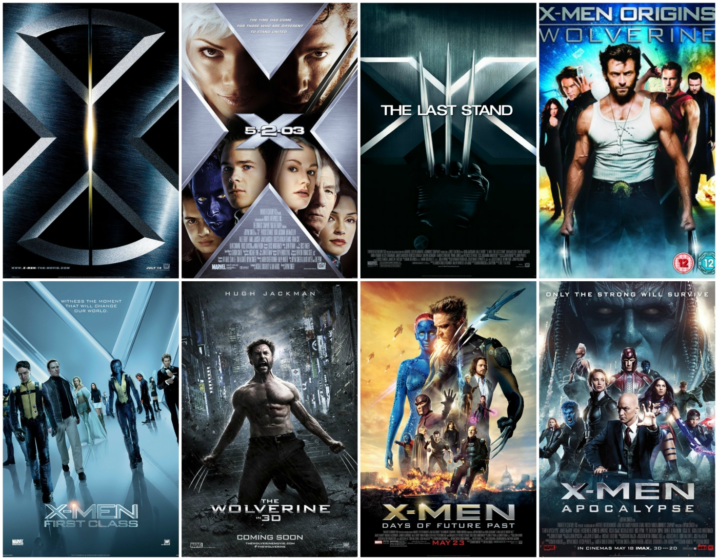 x-men movies ranked – millennial movies