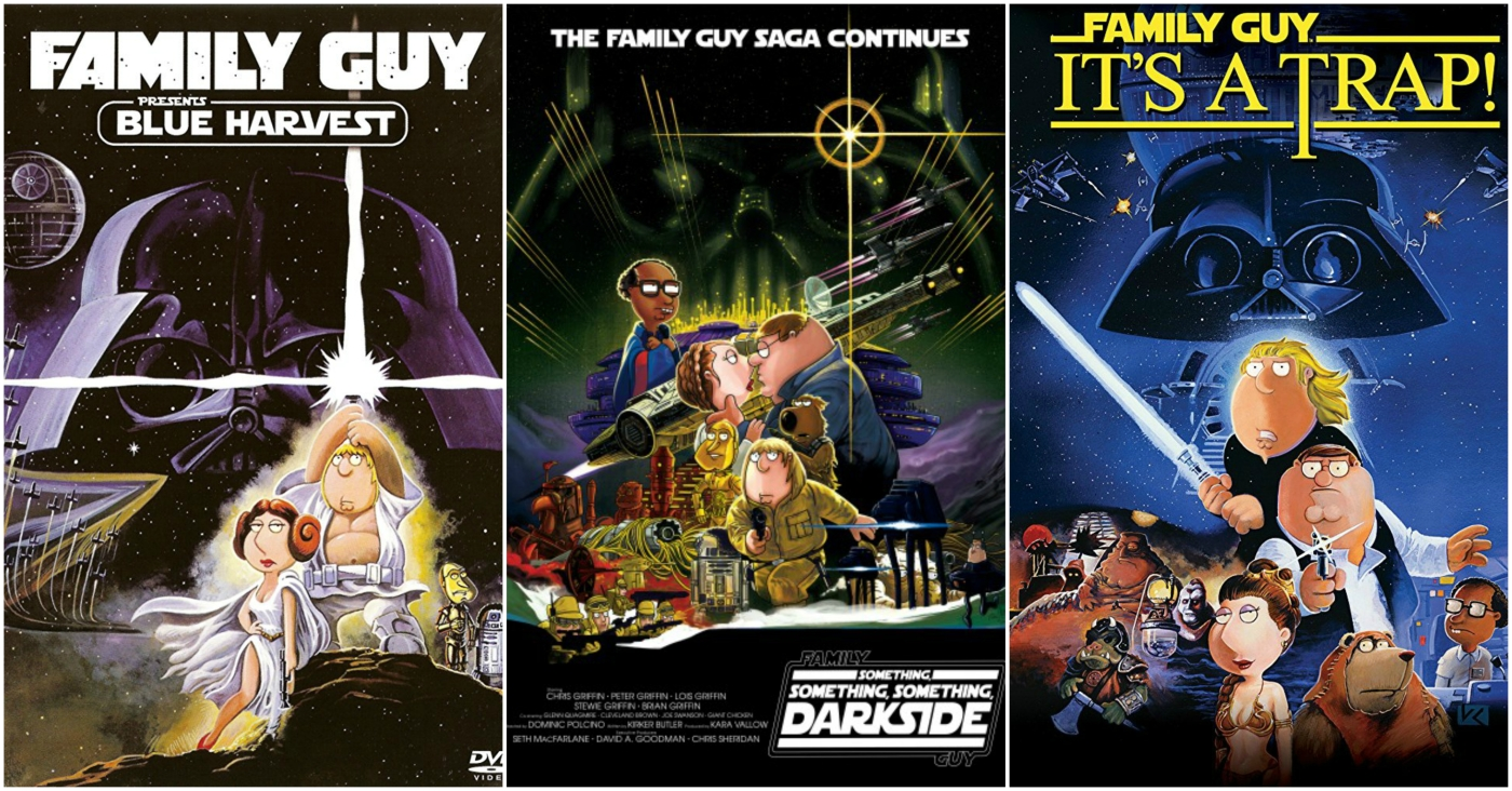 saturday recommendations family guy star wars specials